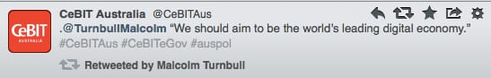 CeBIT Turnbull