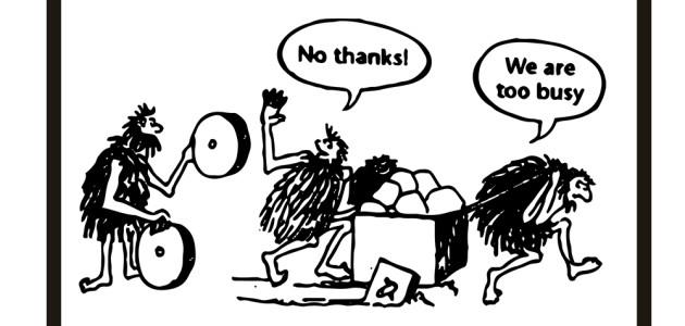 Busy-cavemen